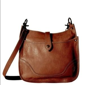 Frye Madison Cognac Crossbody NWOT